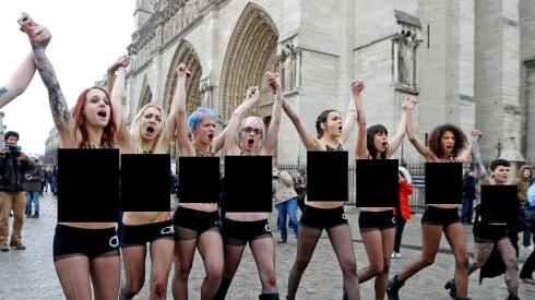 FEMEN-peladas