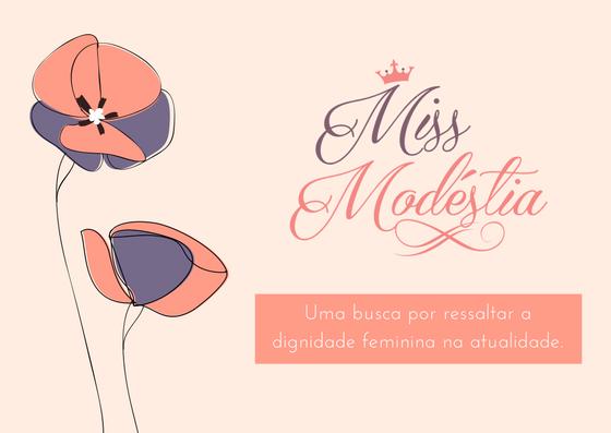 capa Miss modestia